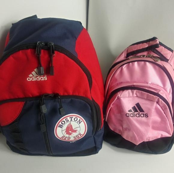 "Adidas "" Boston Red Sox "" Backpack rn#88387 Bundle"